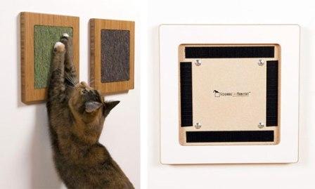 Как своими руками сделать для кошки когтеточку